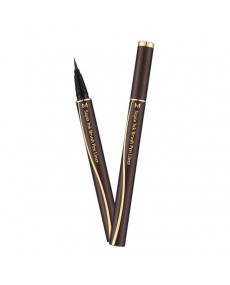 M SEPIA INK BRUSH PEN LINER (DARK BROWN)