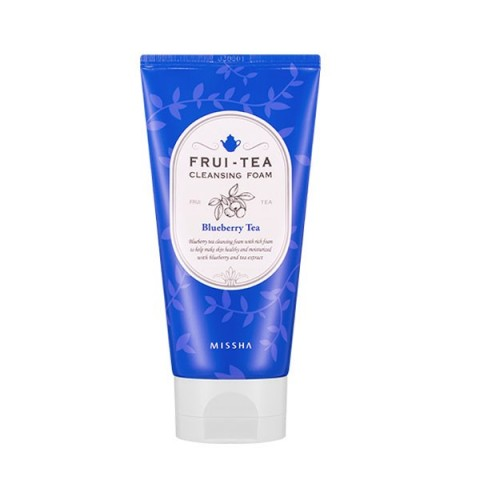 MISSHA FRUI–TEA CLEANSING FOAM (BLUEBERRY TEA)