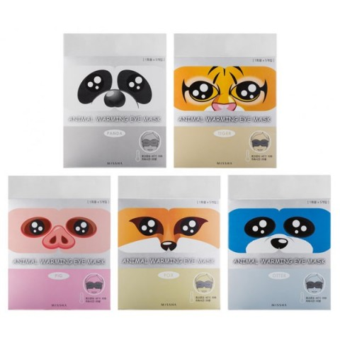 MISSHA ANIMAL WARMING EYE MASK