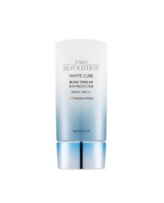 TIME REVOLUTION WHITE CURE BLANC TONE-UP SUN PROTECTOR SPF50+ / PA+++
