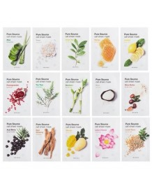 [CRAZY SALE] PURE SOURCE CELL SHEET MASK (15 SHEETS)