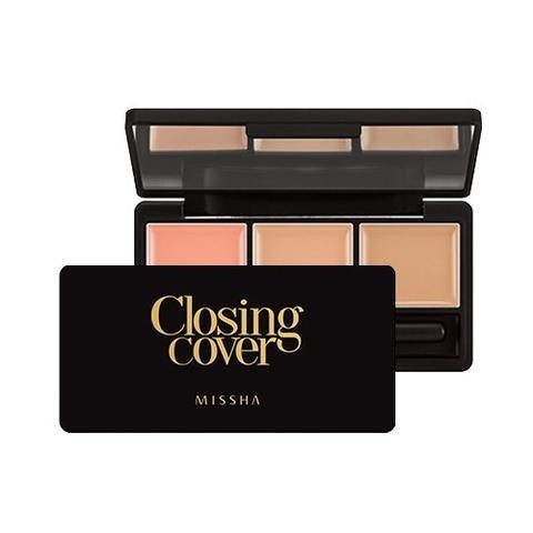 CLOSING COVER PALETTE CONCEALER (NO.1/VANILLA MIX)