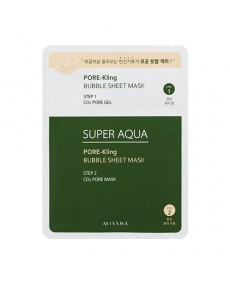SUPER AQUA PORE-KLING BUBBLE SHEET MASK