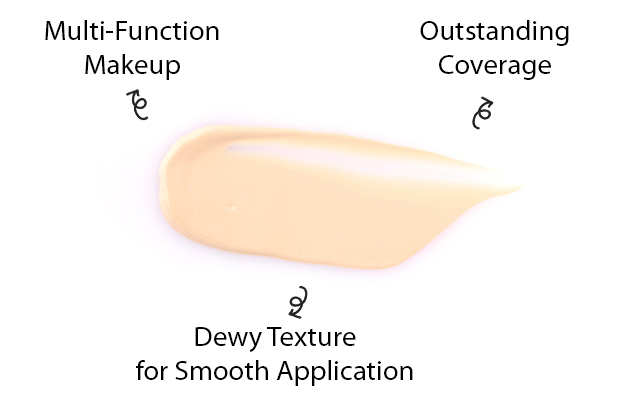 Multi-Function Makeup, Outstanding Coverage, Dewy Texture for Smooth Application