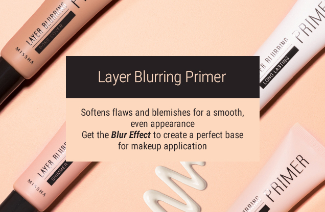 Layer Blurring Primer (Tone Control)