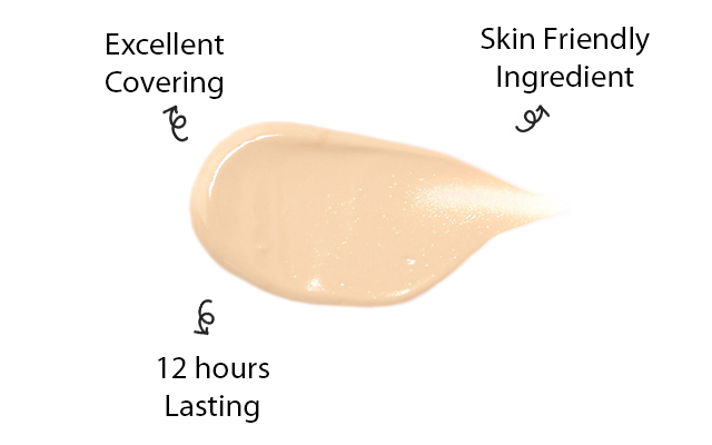 Excellent Covering, 12 hours lasting, Skin Friendly Ingredient